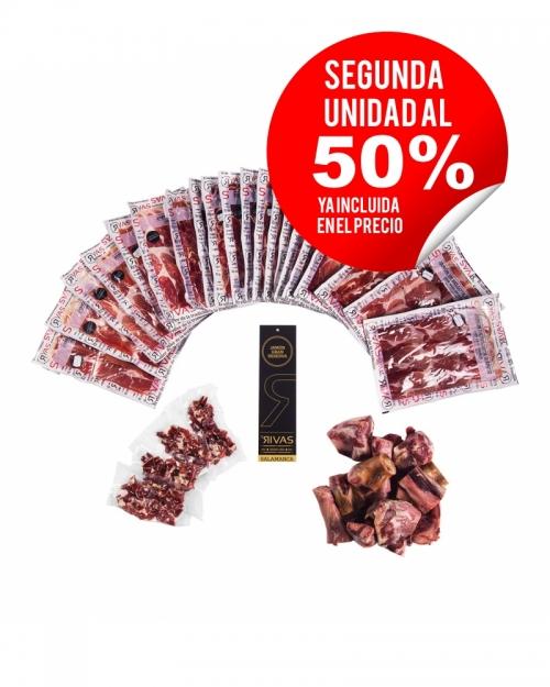 JAMÓN GRAN RESERVA 100% NATURAL. (LONCHEADO) - SEGUNDA UNIDAD A 59,50€