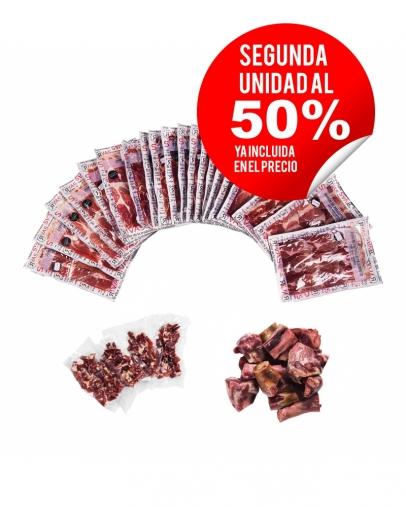 JAMÓN RIVAS ETIQUETA NEGRA 100% NATURAL PREMIUM (LONCHEADO) - SEGUNDA UNIDAD A 84,95€